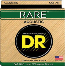 Струны для акустической гитары DR Strings RPL-10 RARE Phosphor-Bronze Acoustic Guitar Ex-Light 10-48