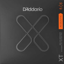 Струны D'Addario XTABR1047 Bronze 80/20  Acoustic Guitar Strings Extra-Light 10-47