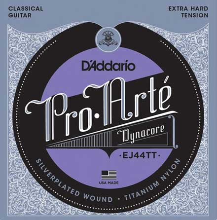 Титалоновые струны D'Addario EJ44TT Classical Guitar Strings