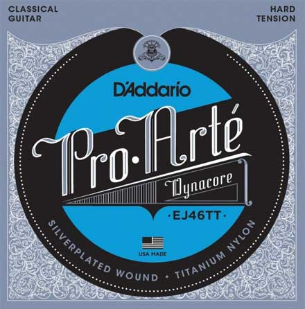 Титалоновые струны D'Addario EJ46TT Classical Guitar Strings