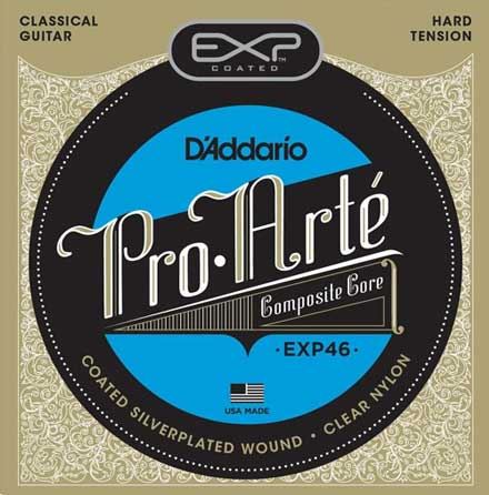 Нейлоновые струны D'Addario EXP46 Classical Guitar Strings