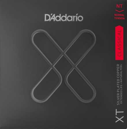 Нейлоновые струны D'Addario XTC45 Classical Guitar Strings