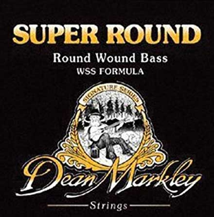 СТРУНЫ ДЛЯ БАС-ГИТАРЫ DEAN MARKLEY 2636 SUPER ROUND  MEDIUM 50-105