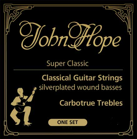 Карбоновые струны  John Hope Super Classic Carbotrue normal JH047