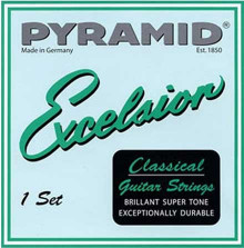 НЕЙЛОНОВЫЕ СТРУНЫ PYRAMID  Excelsior CLASSIC  383200 SILVER NYLON NORMAL